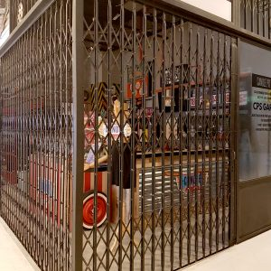 Powder Coated Collapsible Gate